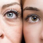 porównanie skóry starszej kobiety i młodszej